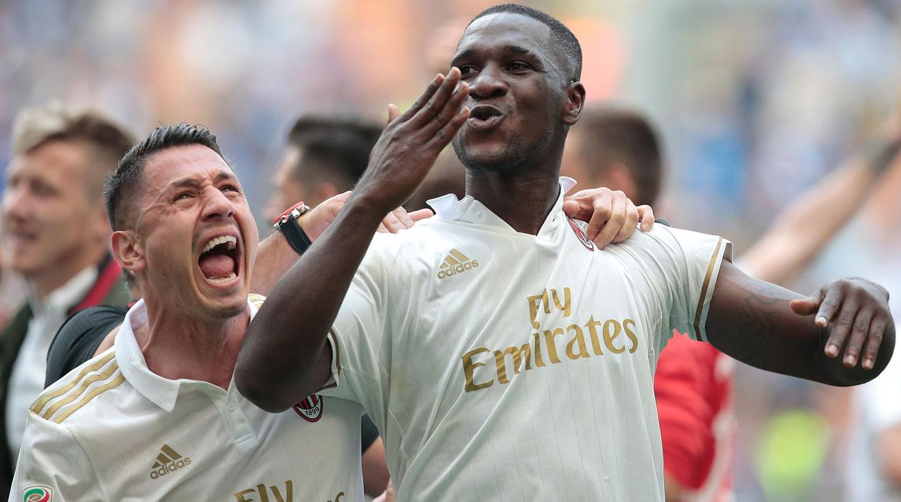 AC Milan drew Inter Milan in Serie A