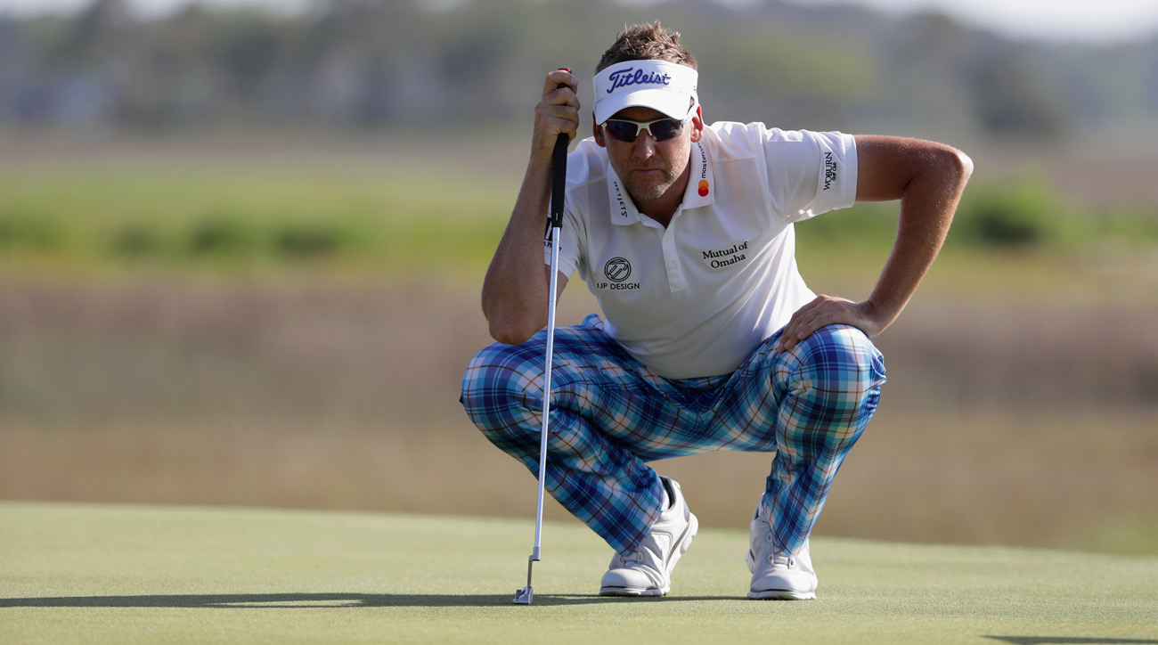 Ian Poulter during the final round of the RBC Heritage.