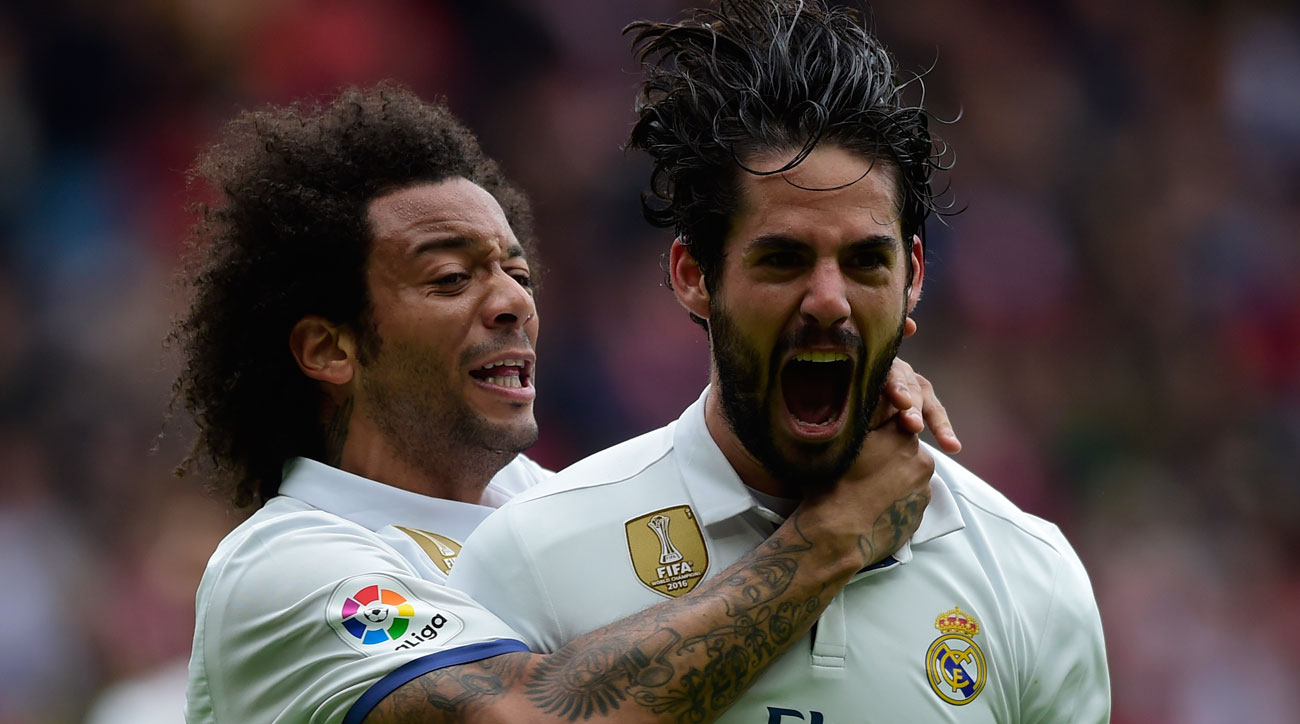 Isco was heroic for Real Madrid vs. Sporting Gijon