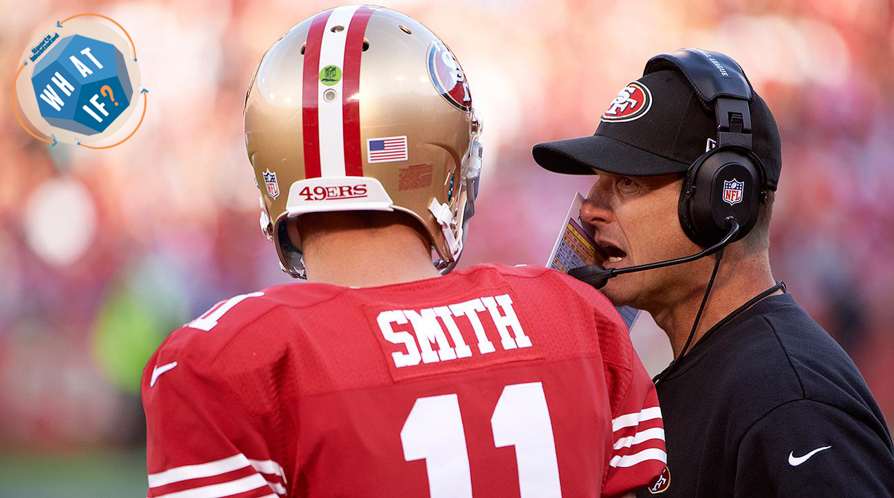 What If Jim Harbaugh Had Stuck With Alex Smith As His