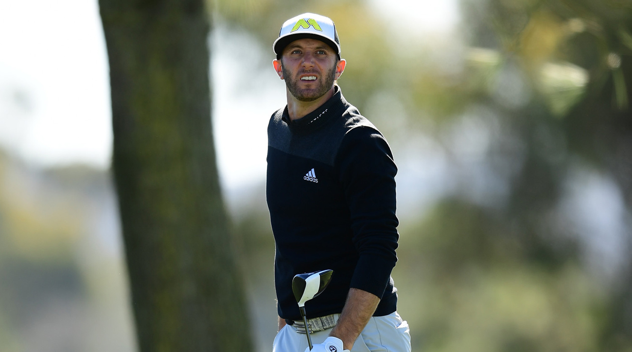 Prior to pulling out of the Masters, Dustin Johnson had won in his three previous starts.