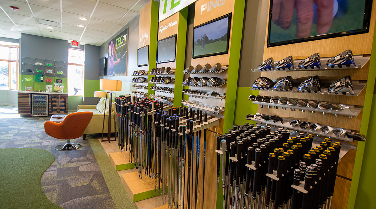 Another look inside a GOLFTEC location.