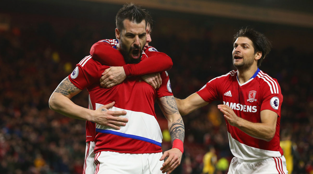 Middlesbrough's Alvaro Negredo is in great form