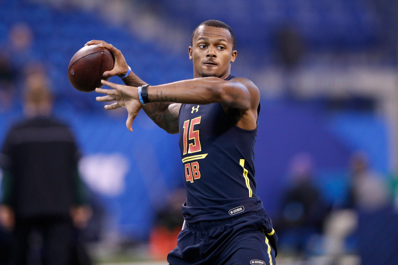 Deshaun Watson is expected to be picked in the first round of the draft. How many other quarterbacks will join him is a matter of debate.