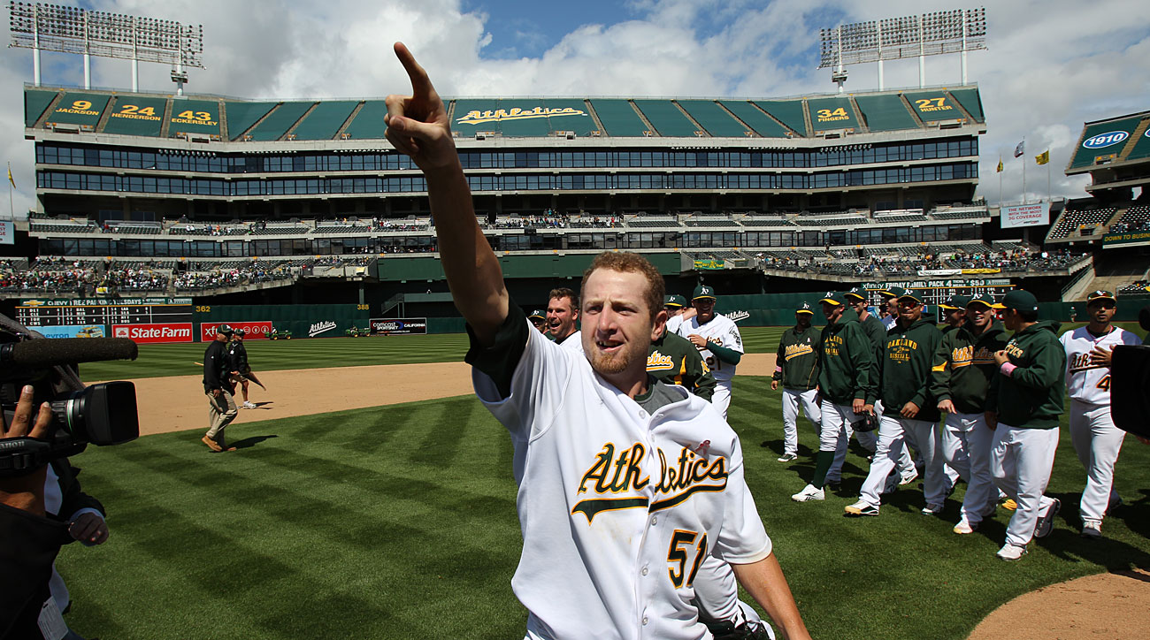 Dallas Braden, Oakland Athletics