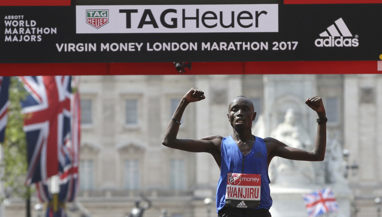 daniel wanjiru london marathon 2017