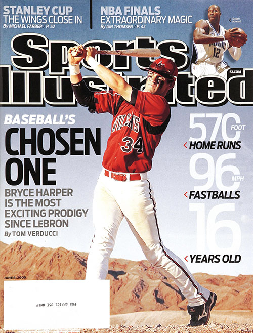 At 16, Bryce Harper was a super-prospect