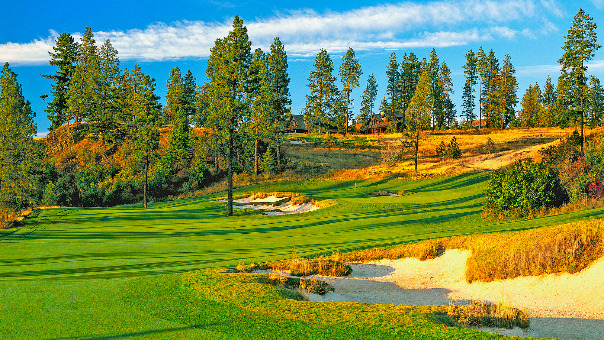 """<p><strong>Public:</strong> Circling Raven, Worley</p><p><strong>⇐ Private:</strong> Gozzer Ranch, Harrison</p><p><a class=""""standard-button"""" href=""""http://www.golf.com/tee-times#/course/circling-raven-golf-club-idaho"""" target=""""_blank"""">TEE TIMES</a></p>"""