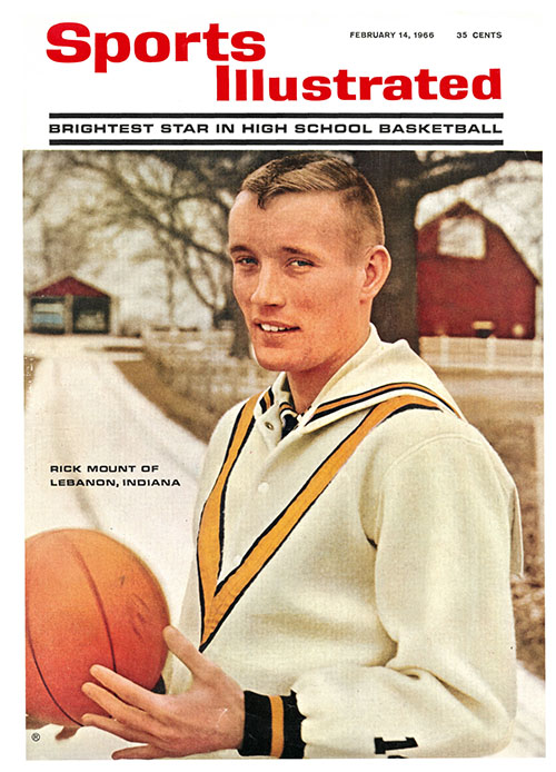 Sports Illustrated looks at Rick Mount, a high school basketball player from