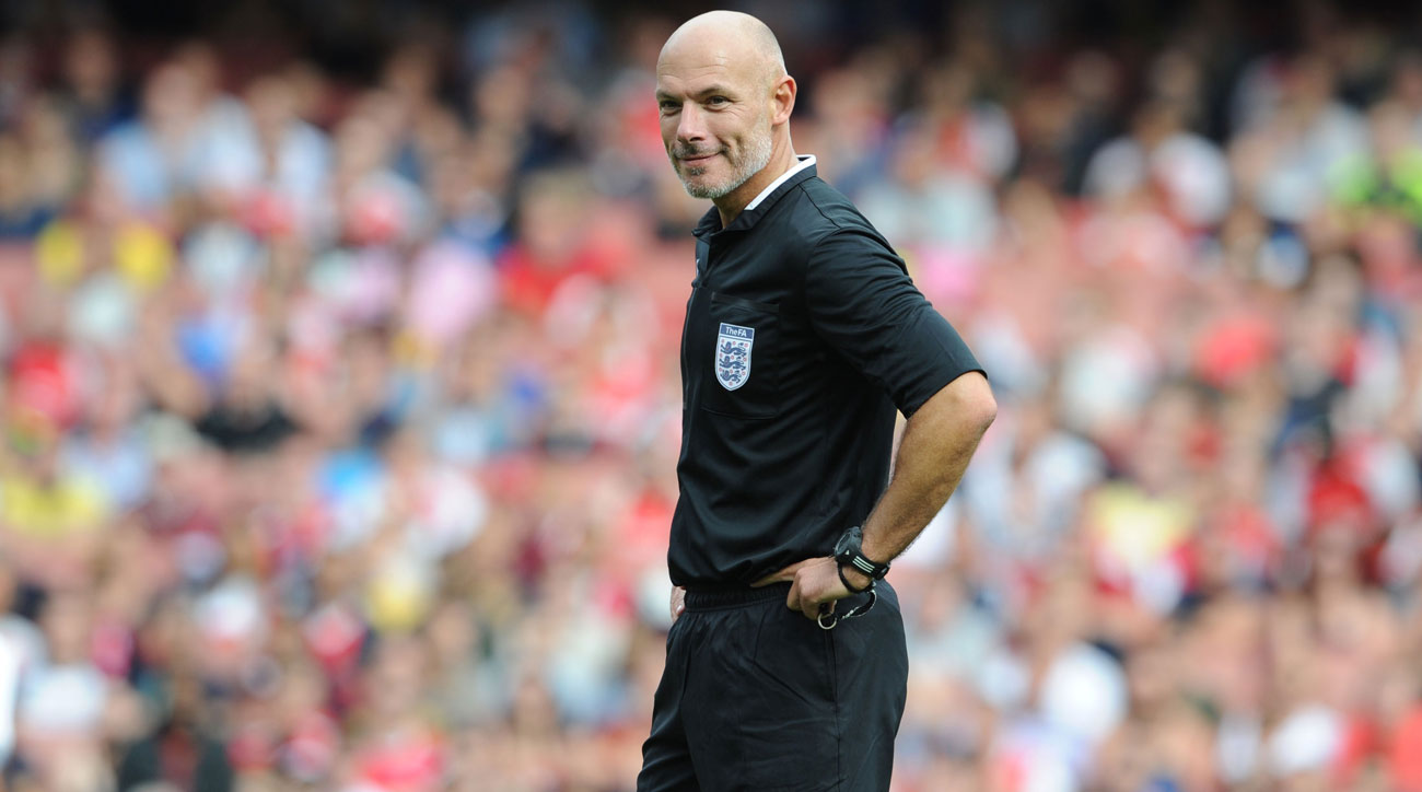 Howard Webb is at the forefront of implementing video replay in soccer