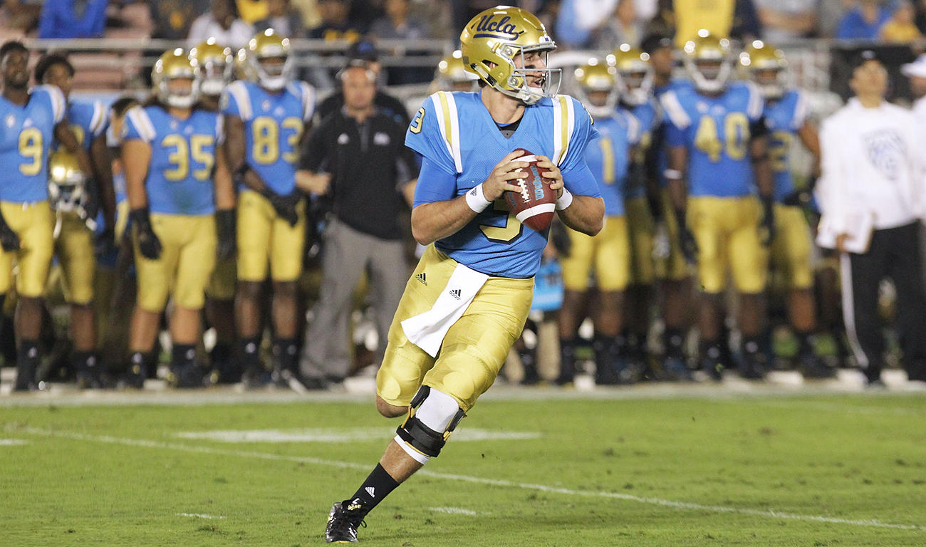 The 2018 draft could be chock full of talented quarterbacks, like UCLA's Josh Rosen.