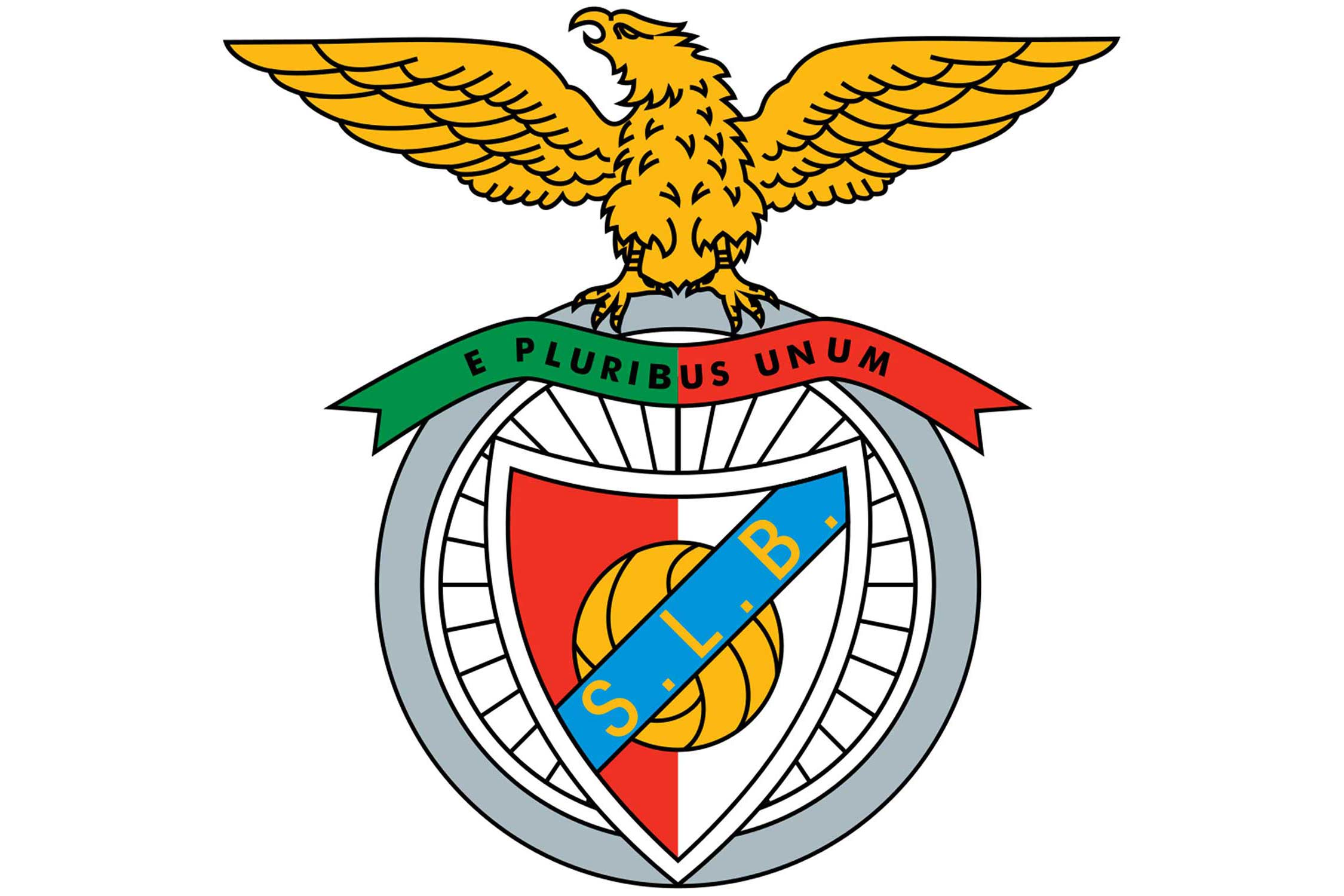 In the background of the crest of this Portuguese club is a bicycle wheel. That's because an earlier incarnation of the club, known as Grupo Sport Benfica, was initially founded with cycling as the main focus.
