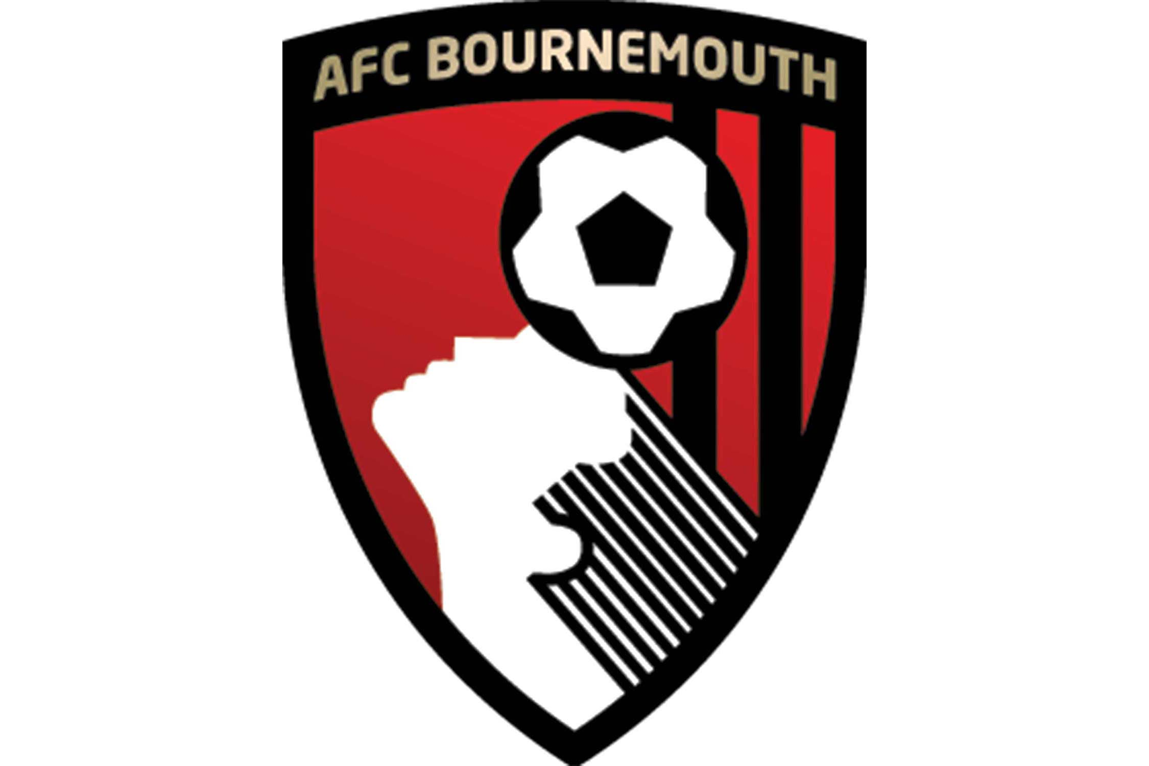 The head in the logo belongs to Dickie Dowsett, a forward who played for Bournemouth in the 1950s and 1960s. At time of writing, he is 85 years old.
