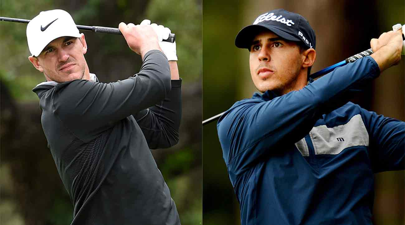 Brothers Brooks (left) and Chase Koepka will team up at the Zurich Classic.