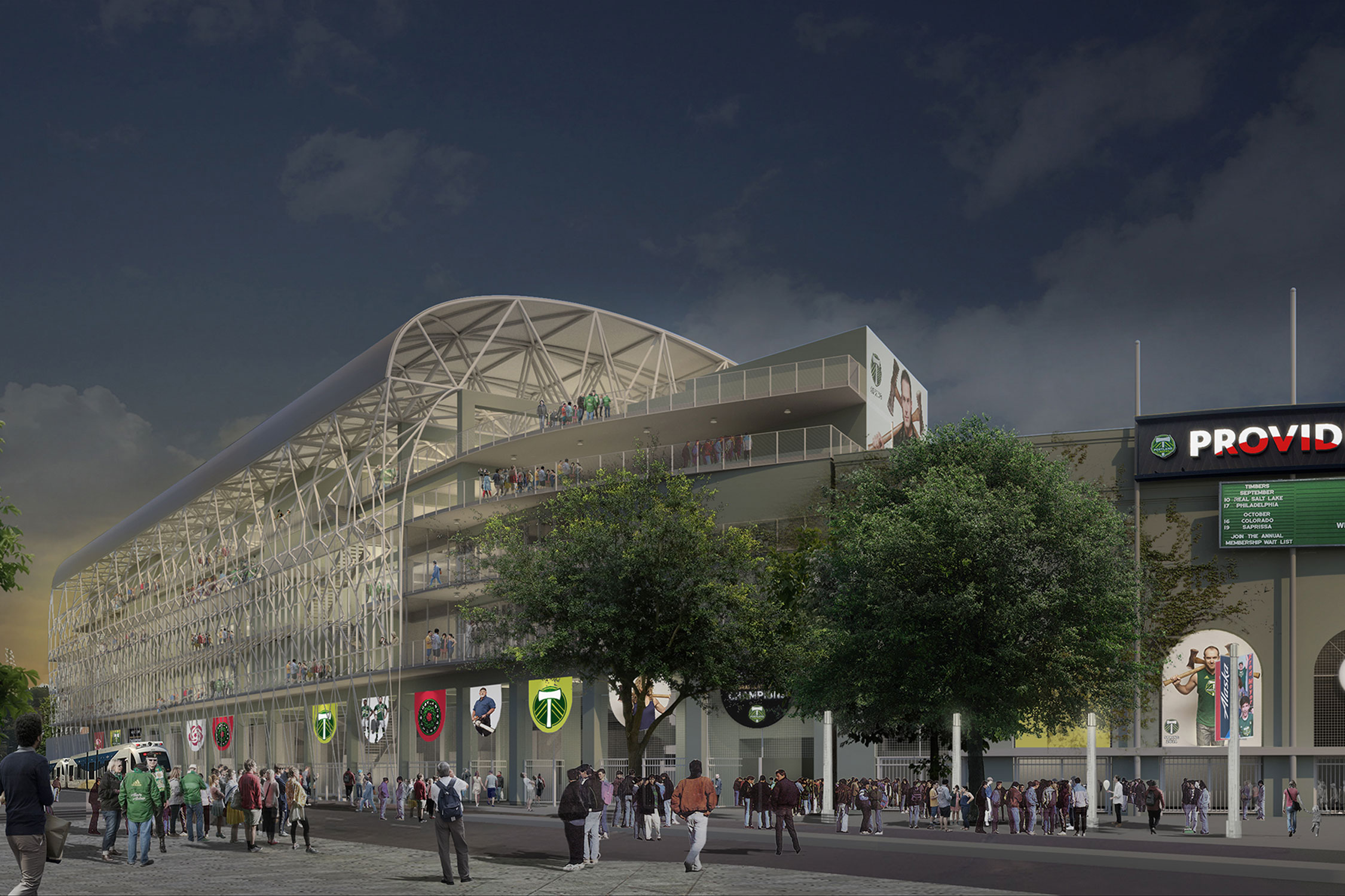 Providence Park Plans 4000-Seat Expansion