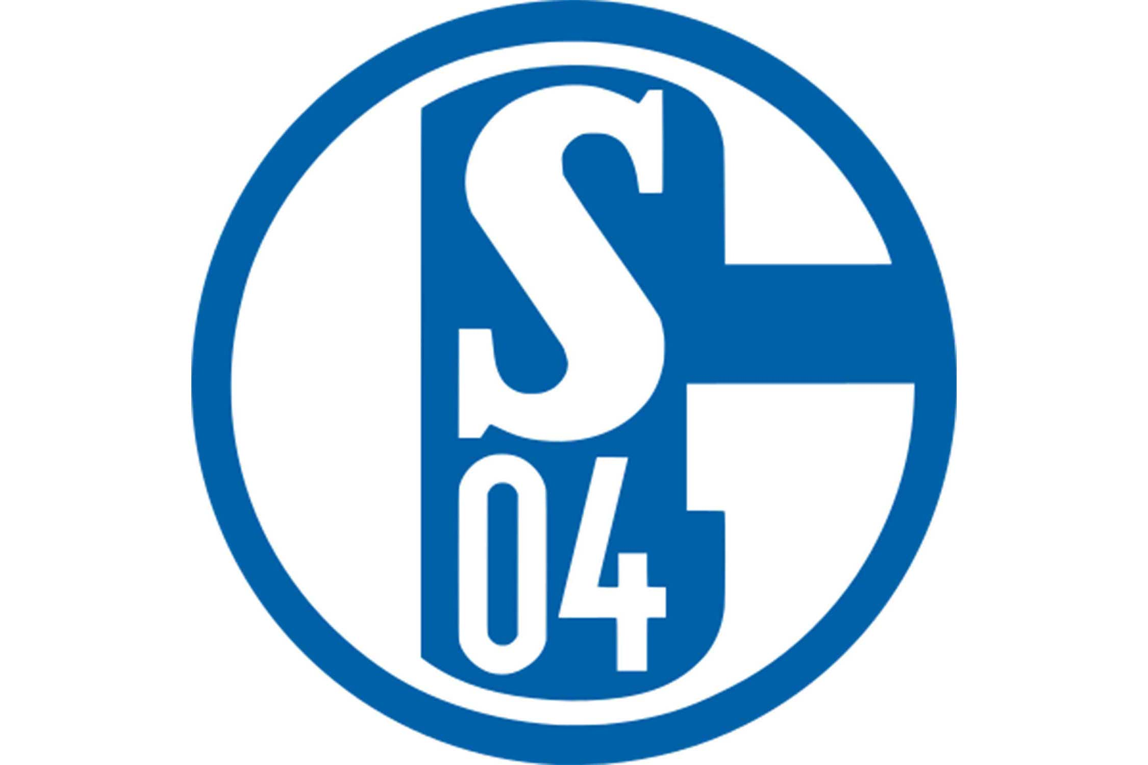 Surrounding the S (representing the name of the club) and the 04 (representing 1904, the club's founding year) is a large letter G. That stands for Gelsinkirchen, the city where Schalke 04 is based.