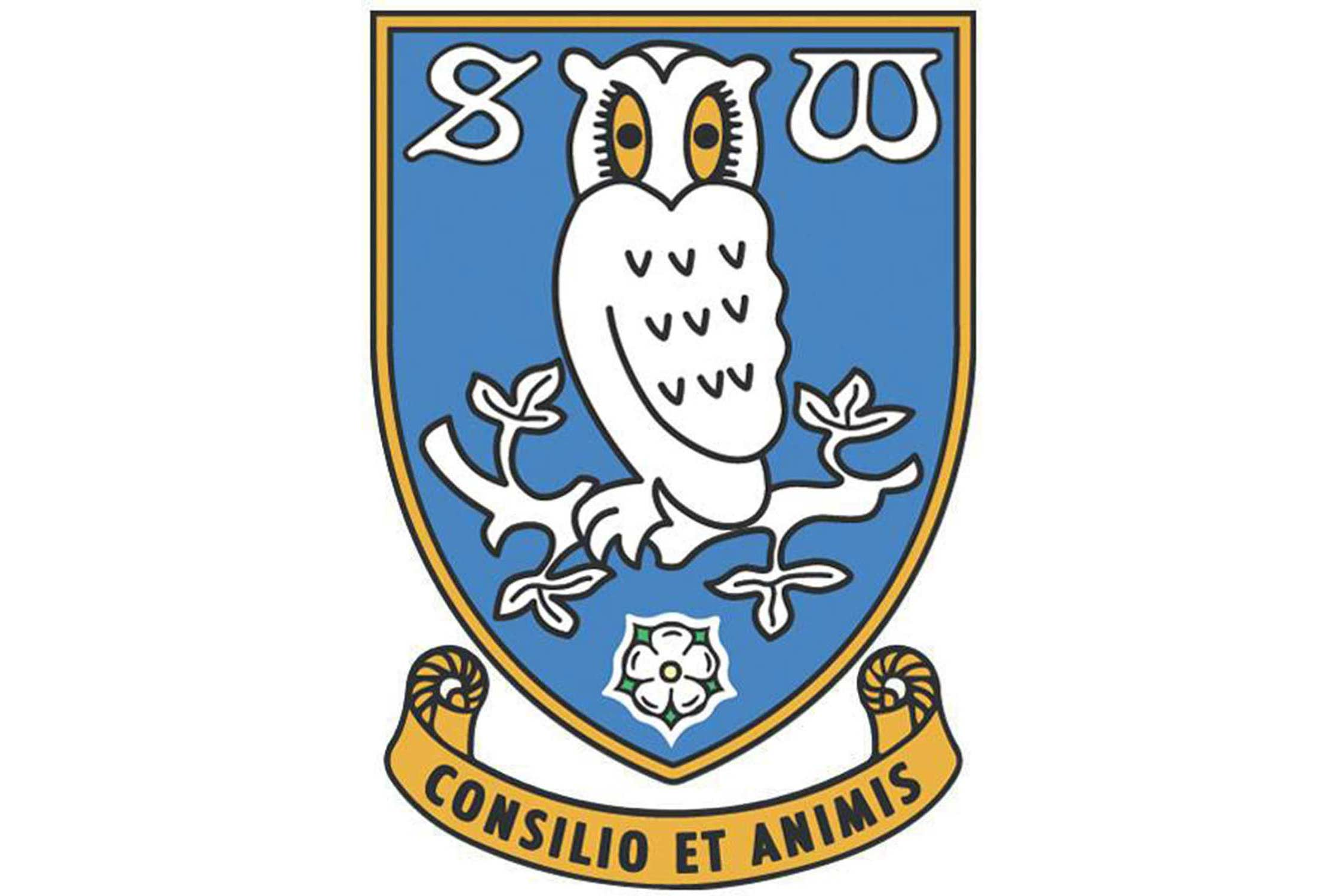 The owl in the crest represents Owlerton, a suburban section of Sheffield where the club's home stadium is located.