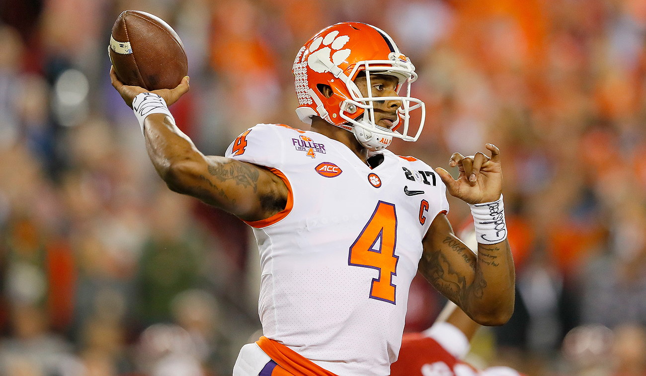 Already a two-time Heisman finalist and a national champion, Deshaun Watson has a legit chance to add Top 5 draft pick to his recent accomplishments.