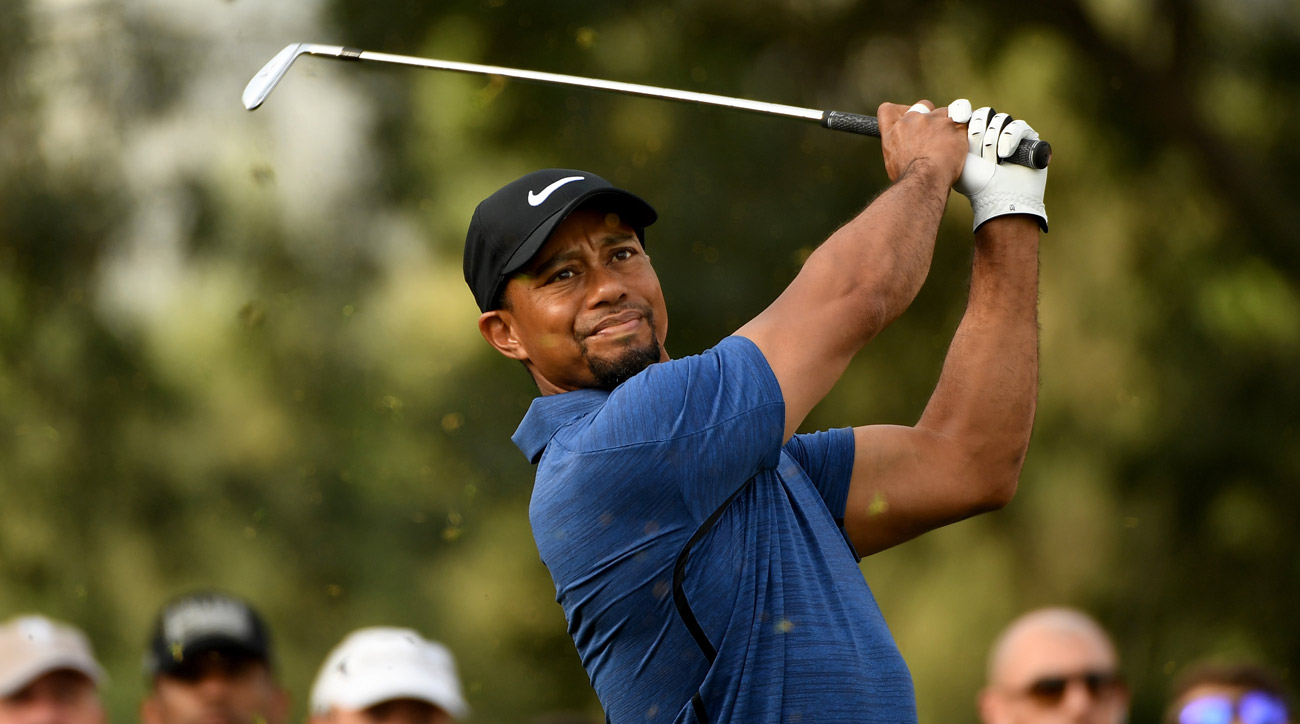 """Would Tiger be open to playing an alternate-format Tour event? '[I support] anything to draw positive interest in golf,"""" Woods said."""