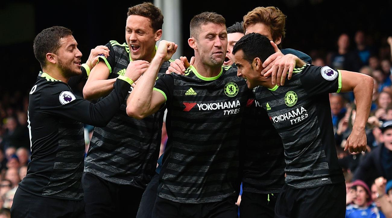 Chelsea beats Everton for a key win in the Premier League title race