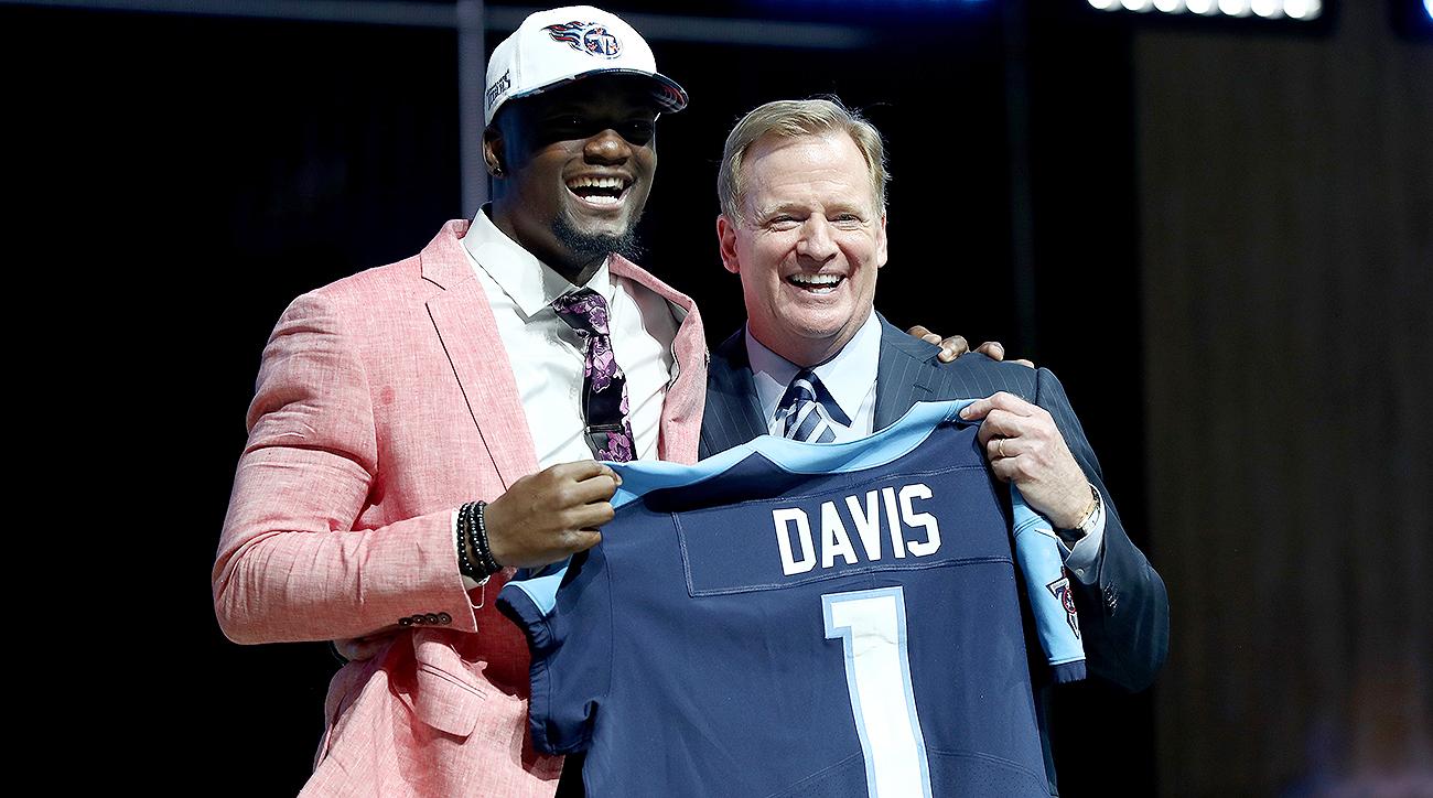 How the NFL draft affects the fantasy football impact of 2017's top rookies