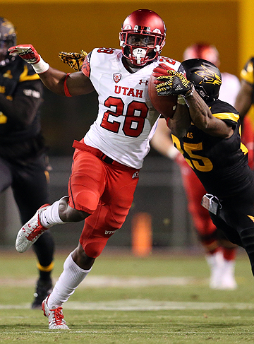 Joe Williams wasn't on the 49ers draft board before the team traded up to select the Utah running back.