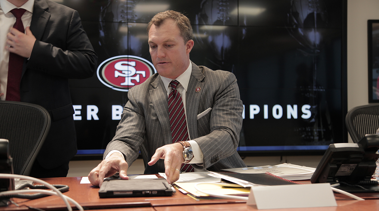 Lynch took over as GM in late January with no previous experience in an NFL front office.
