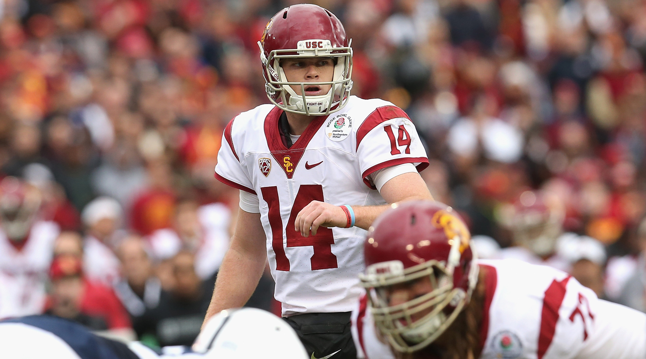 All NFL scouting eyes will be on USC quarterback Sam Darnold this fall.