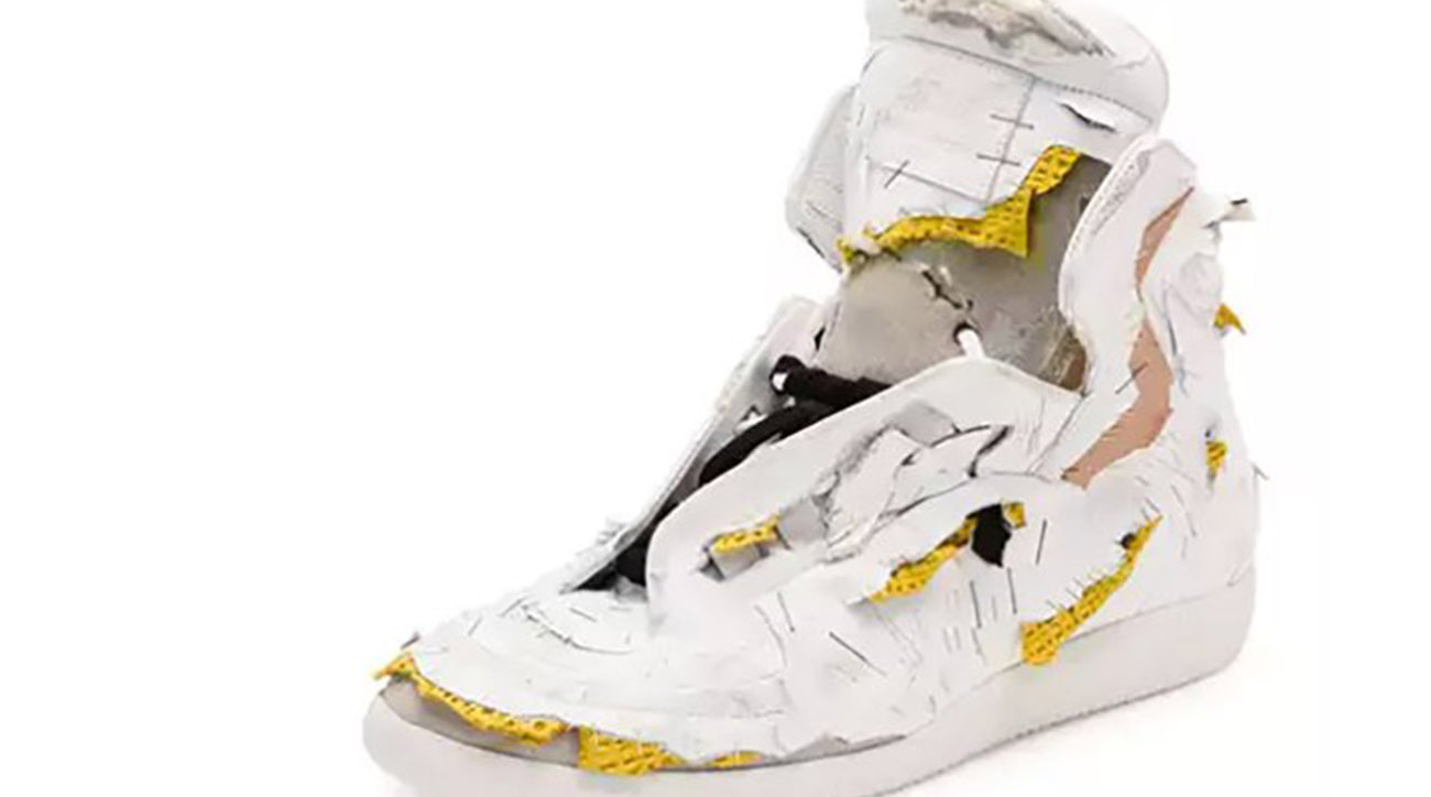 Move over mud jeans: Neiman Marcus sells $1425 torn sneaker
