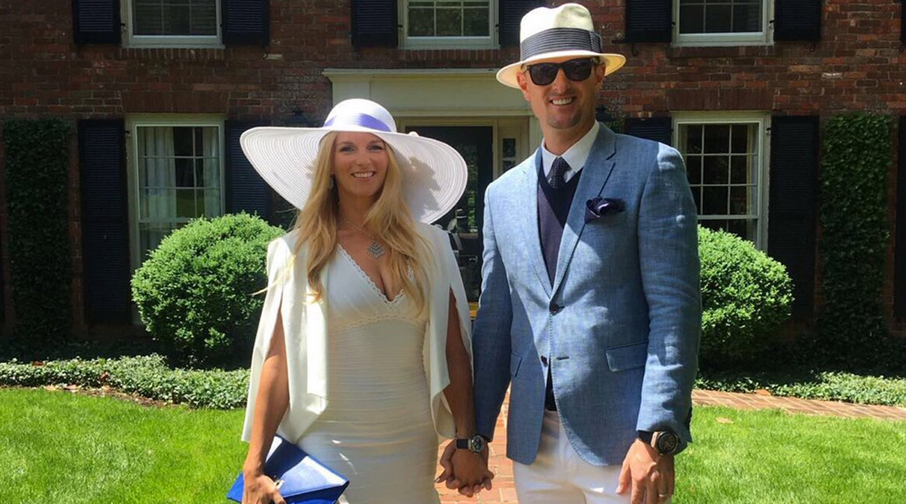 "Justin Rose, with his wife, Kate, called the Derby a ""bucket list event"" on Twitter."