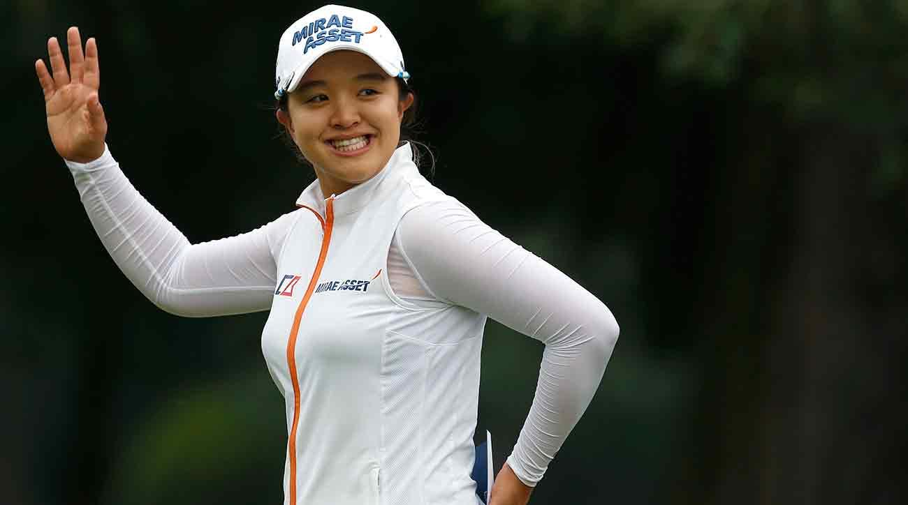 Sei Young Kim celebrates after winning the final round of the Citibanamex Lorena Ochoa Match Play Sunday.