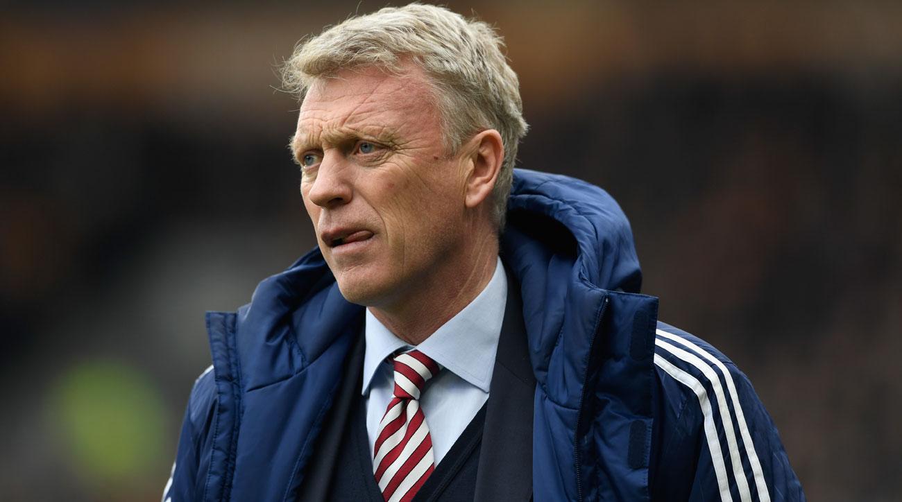David Moyes has managed Sunderland to relegation