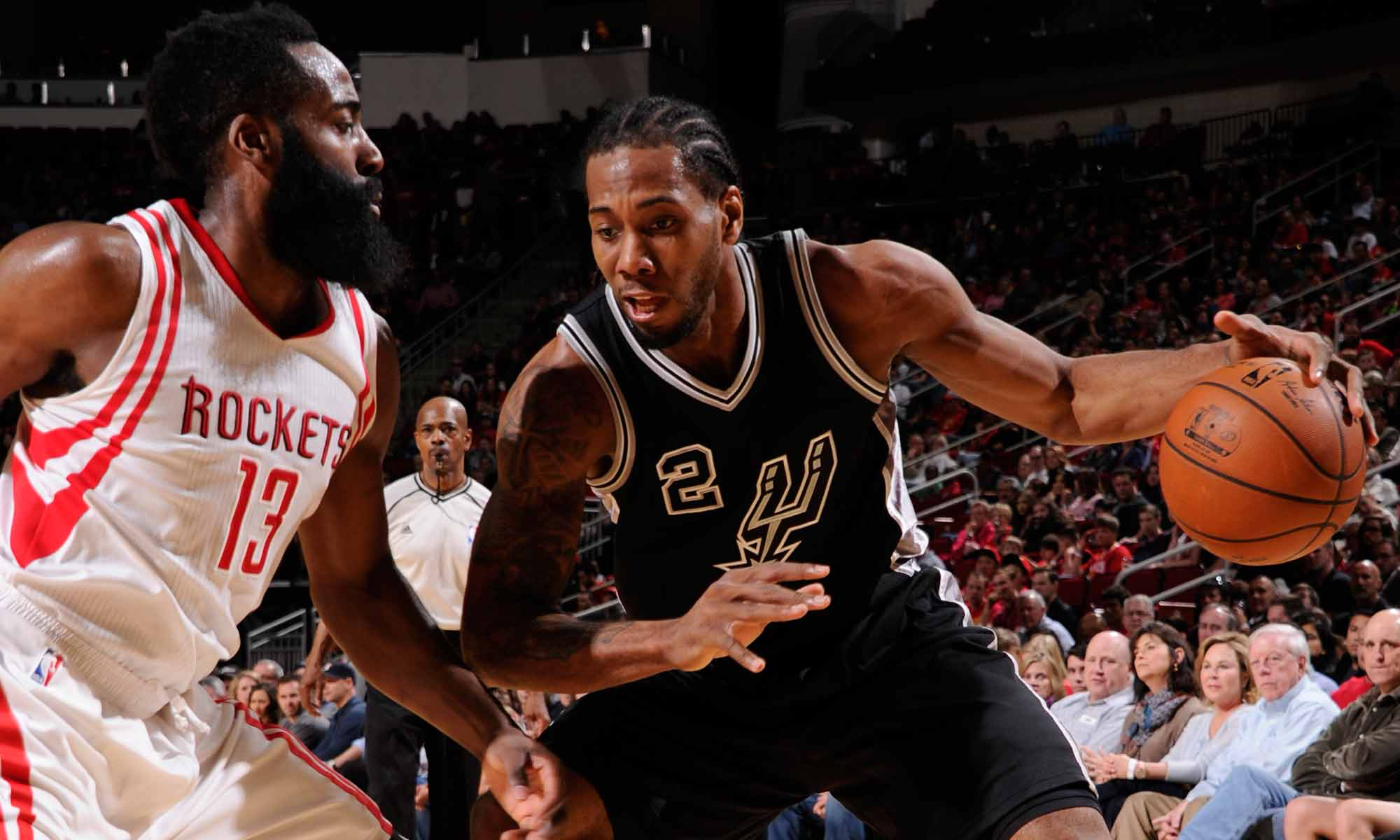 Kawhi Leonard and James Harden
