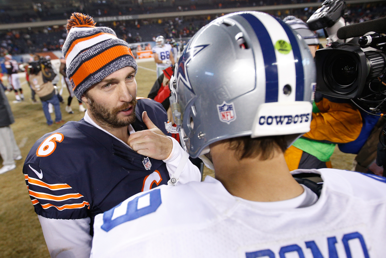 Both Jay Cutler and Tony Romo walked away from the NFL—and into the television booth—after good but perhaps unfulfilled careers.