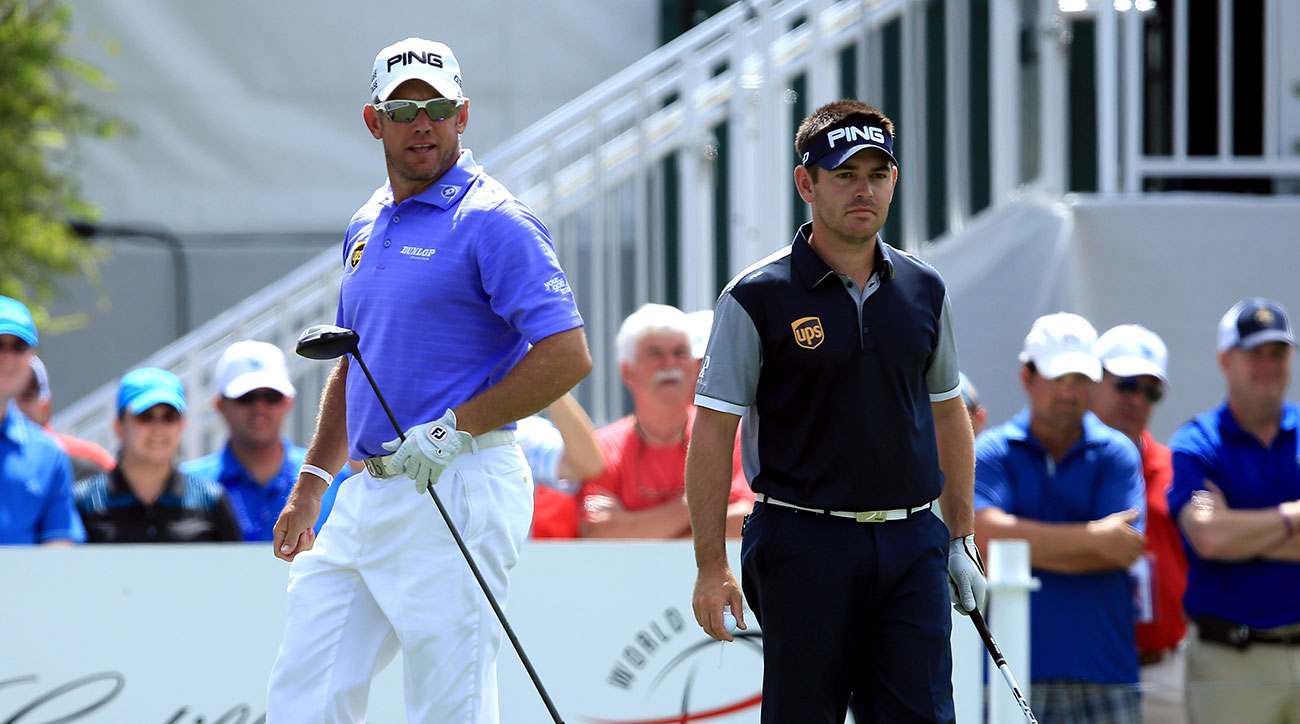 Lee Westwood and Louis Oosthuizen both have endorsement deals with UPS, but will be grandfathered in to the FedEx sponsorship extension.