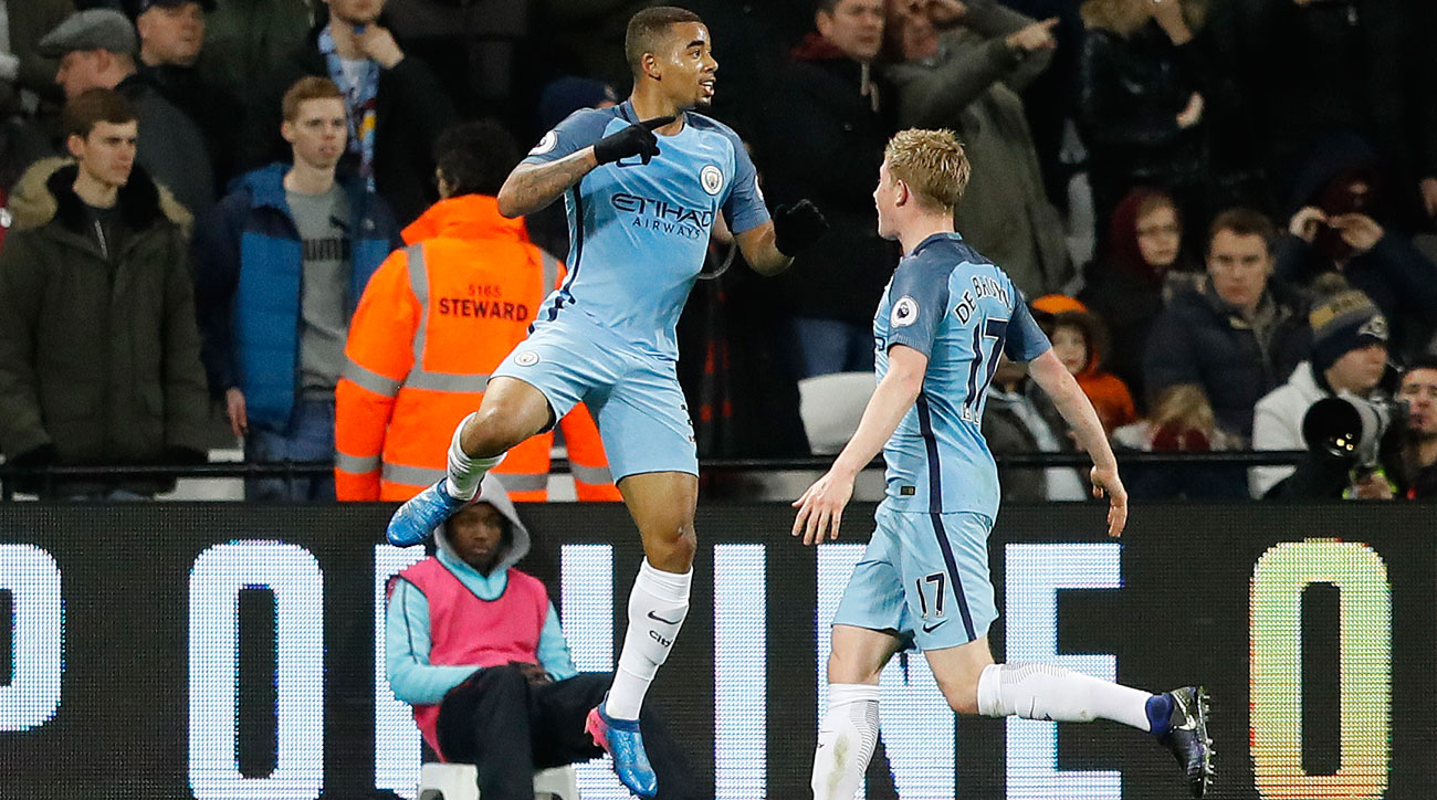 Gabriel Jesus and Kevin De Bruyne are good fantasy plays in Gameweek 37
