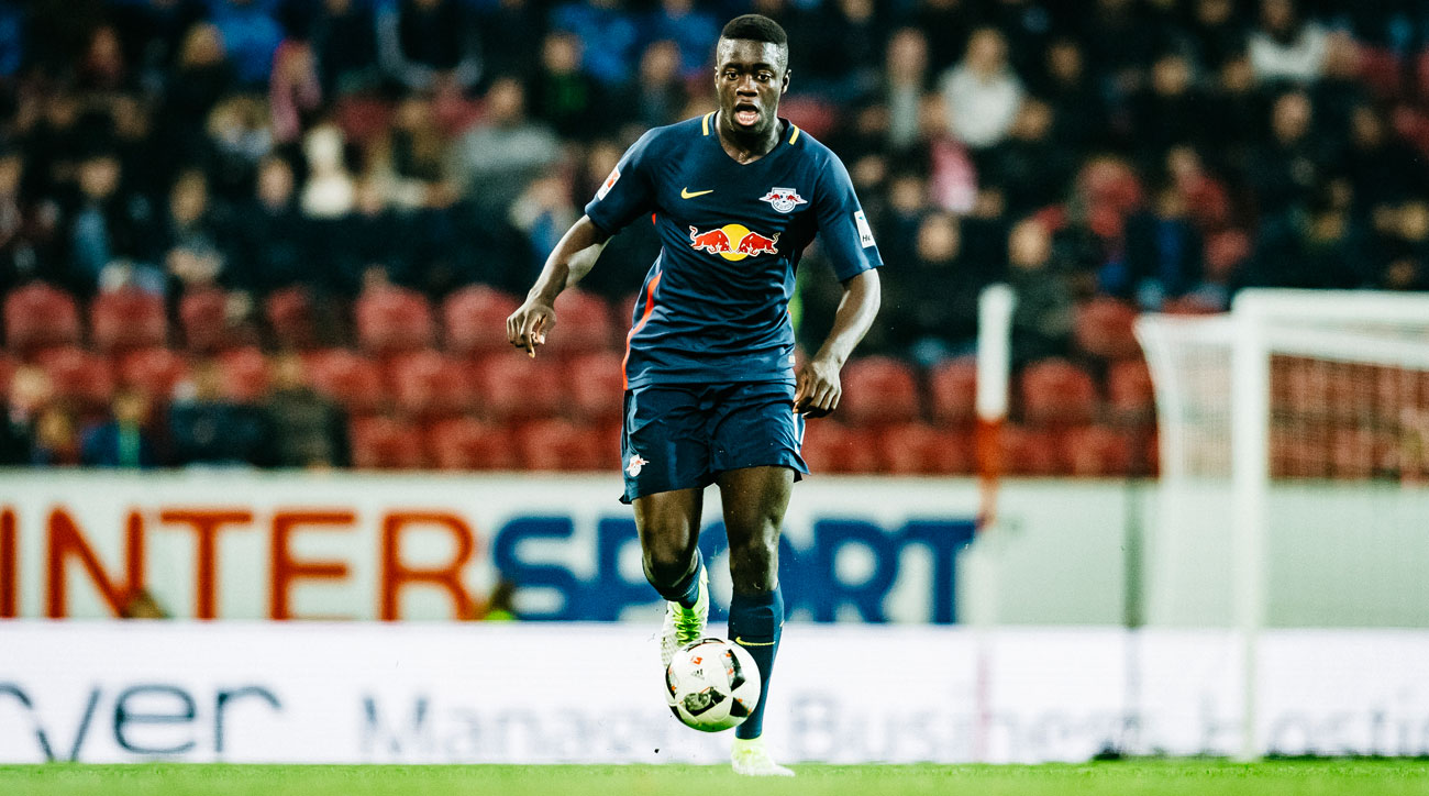 Dayot Upamecano is an up and coming star for RB Leipzig