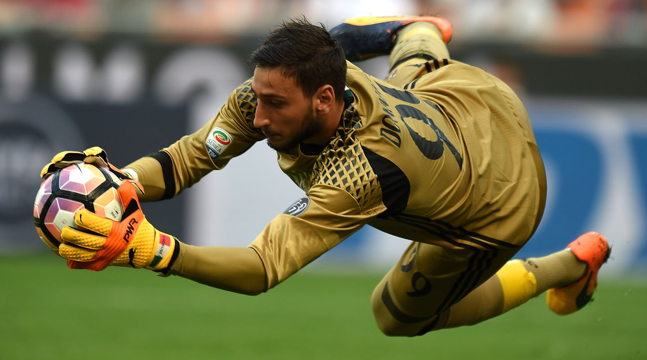 AC Milan's Gianluigi Donnarumma is the heir to Italy's goalkeeping throne