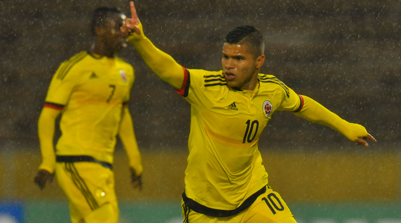 Juan Camilo Hernandez is an up and coming star for Colombia