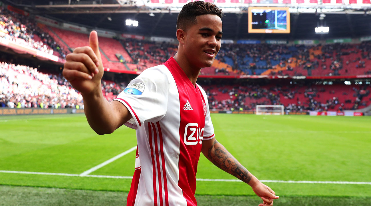Ajax's Justin Kluivert is a rising star in world soccer
