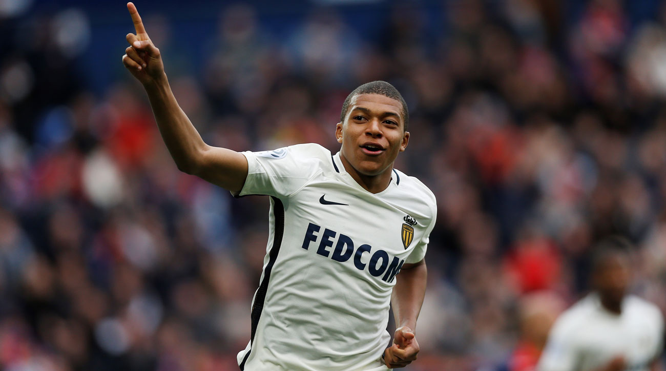 Monaco's Kylian Mbappe is the best rising star in the world