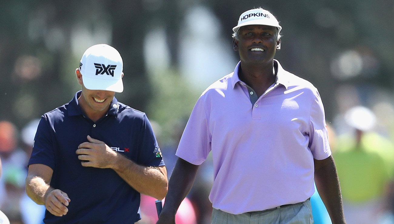 four years after suing the pga tour  vijay singh is
