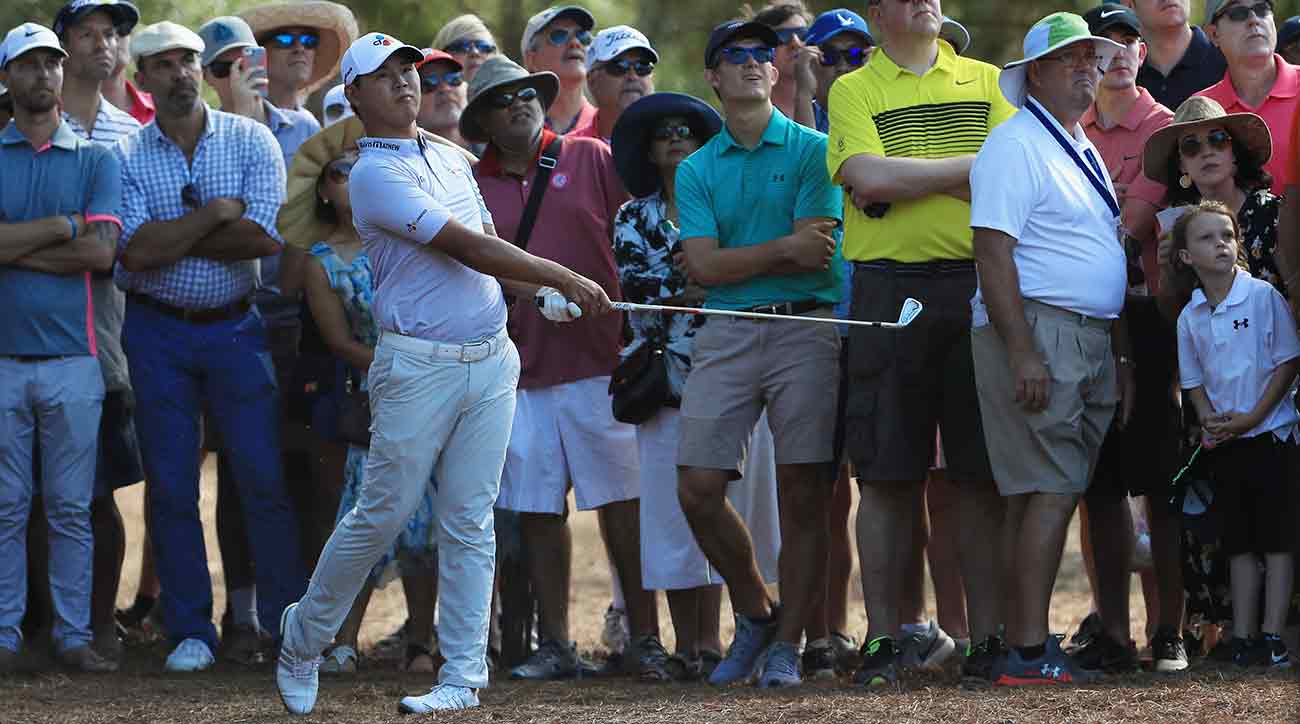 Si Woo Kim was nearly perfect on Sunday. He didn't bogey a hole all day en route to his Players Championship victory.