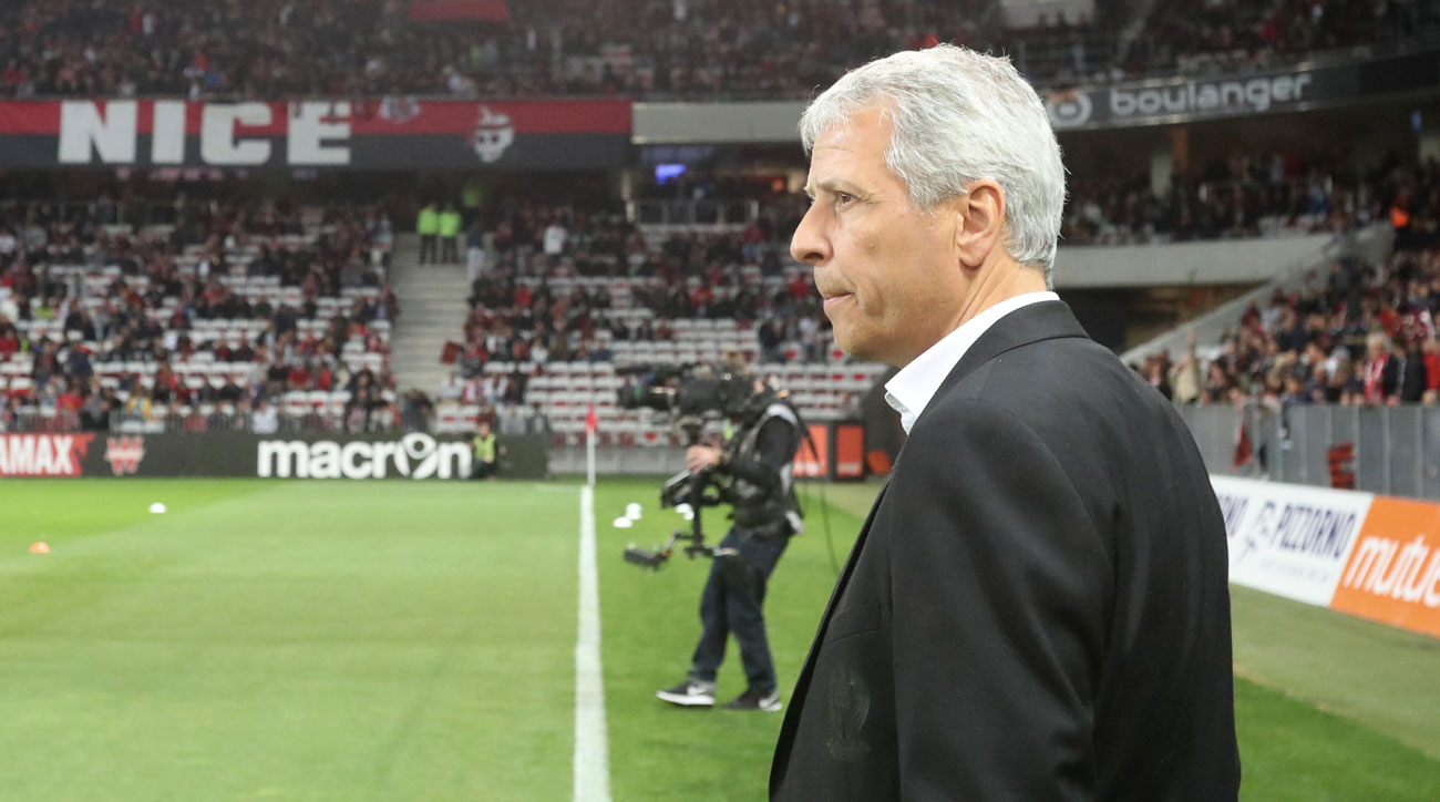 Lucien Favre could leave Nice despite leading the club to Champions League qualification