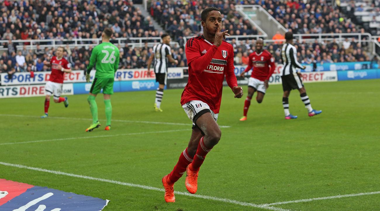 Fulham's Ryan Sessegnon is a rising star at left back