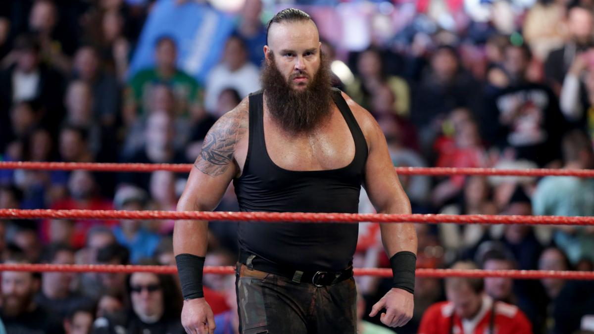 Braun Strowman injury: WWE star out six months (elbow)