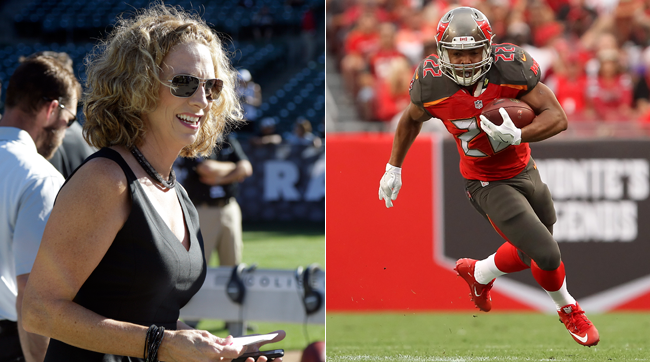 Beth Mowins and Doug Martin.