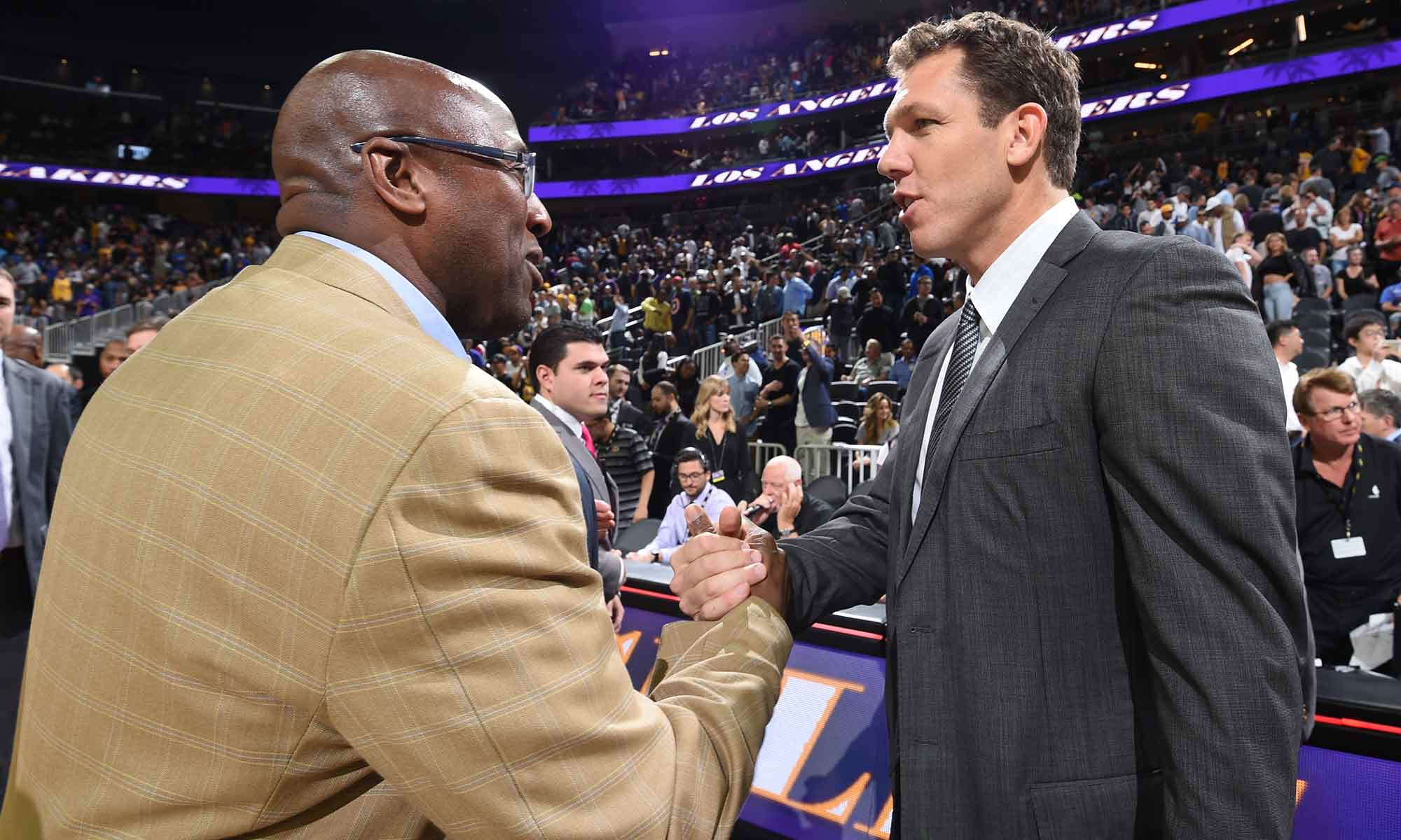 Mike Brown and Luke Walton