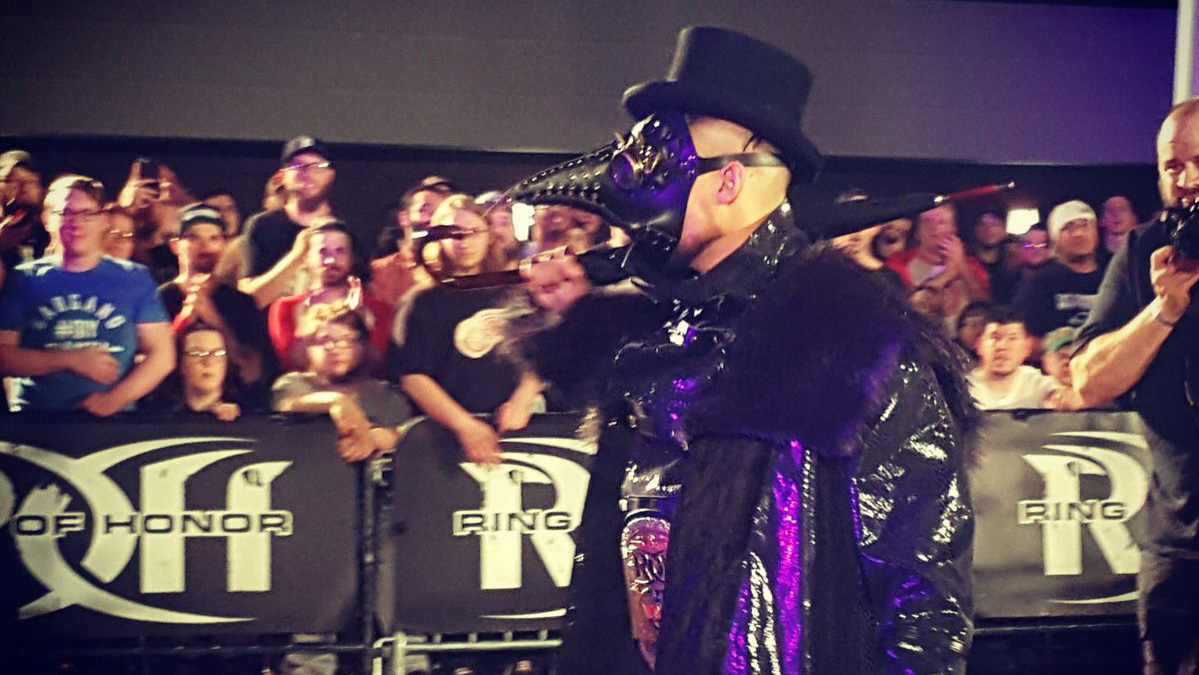 ROH's Marty Scurll gives Bullet Club its 'Villain'