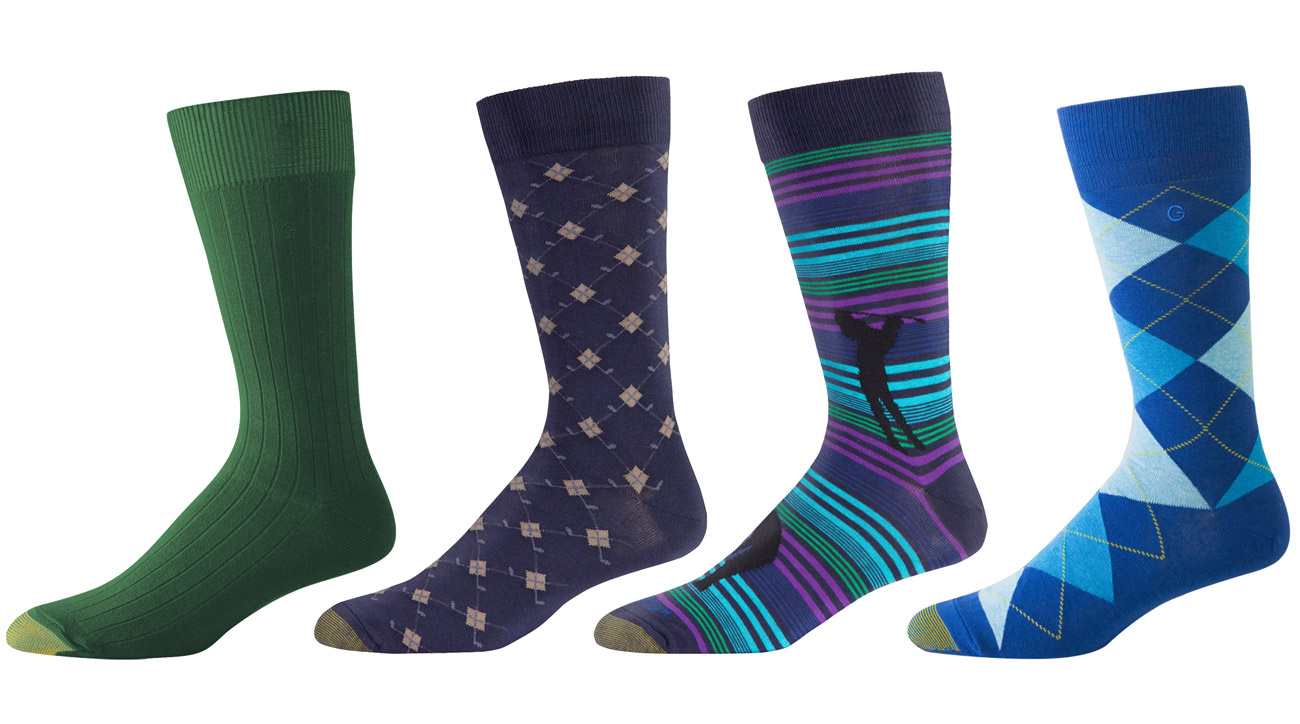 "Give Dad the gift of comfort this Father's Day. The iconic 85-year-old brand now offers both performance and fashion-forward designs in its Clubhouse collection. $9/pair. <p><a class=""standard-button"" href=""https://www.goldtoe.com/shop/mens/socks/argyle-clubs-clubhouse-edition-crew-casual-sock-1-pair-3003"">Buy It Now</a></p>"